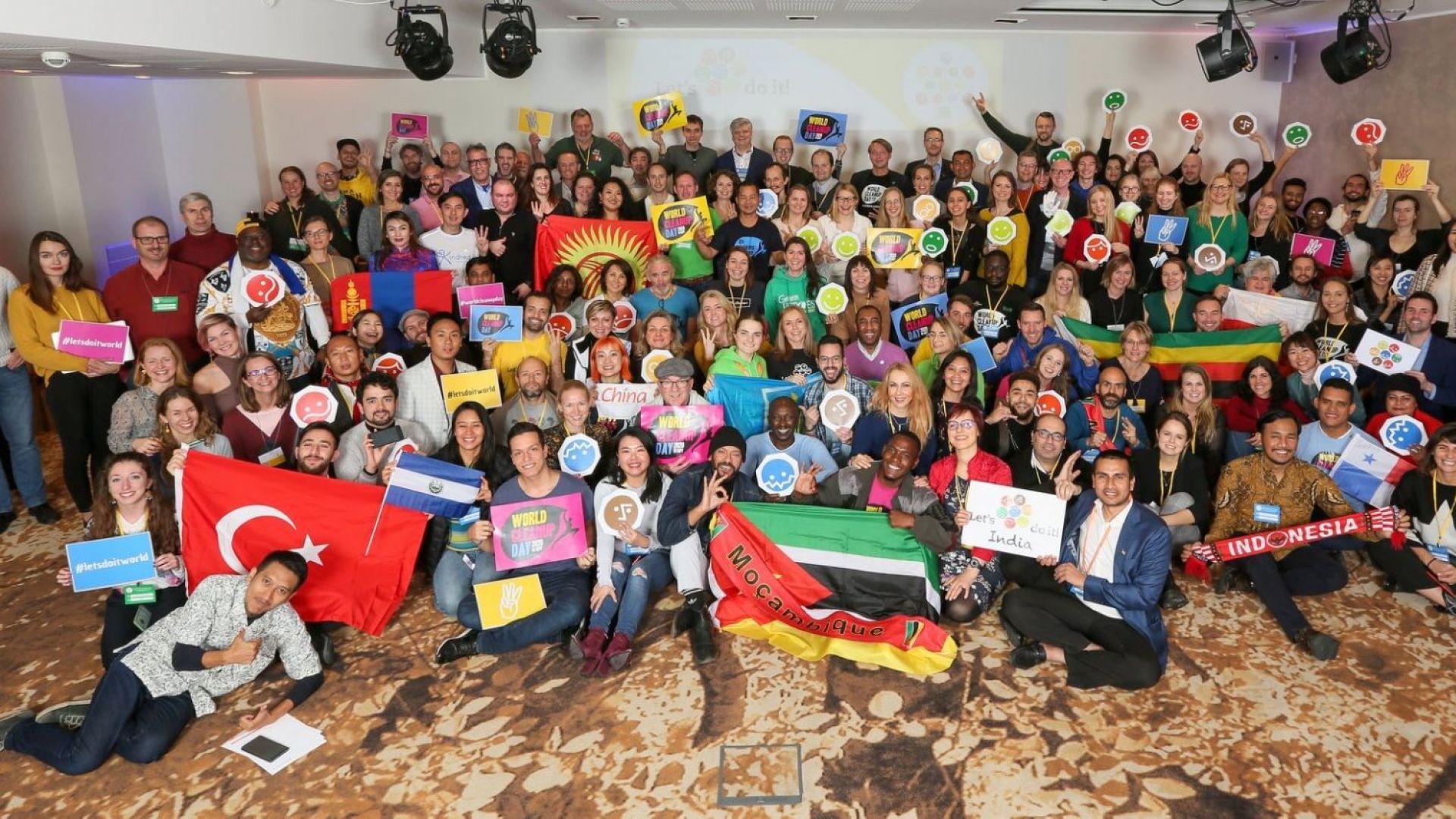"""""""Да изчистим България заедно"""" със световно признание сред 180 държави"""