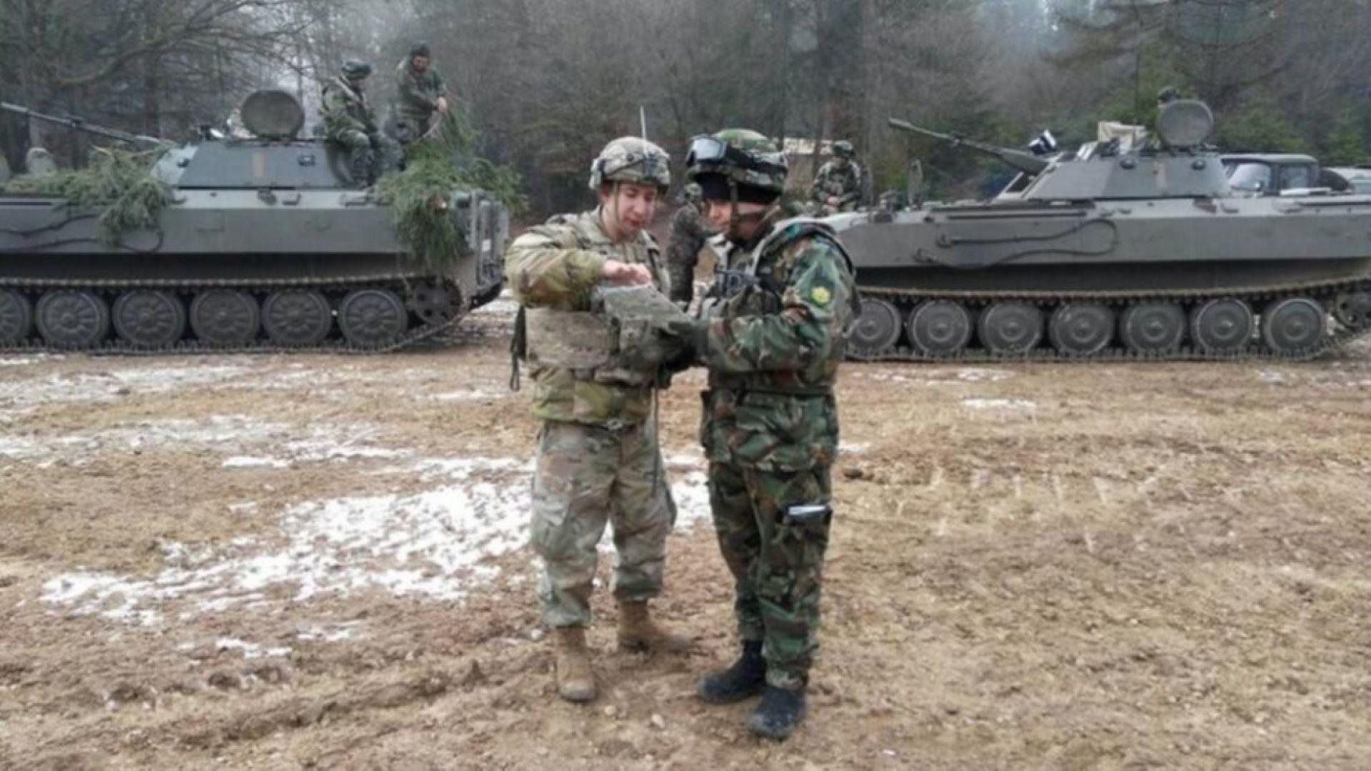 Наши войници участваха в учение в Германия