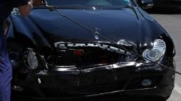 Катастрофа с автомобил на НСО в София