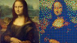 Мона Лиза от кубчета Рубик беше продадена за 480 000 евро