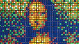 Джокондата, изобразена с кубчета на Рубик отива на търг