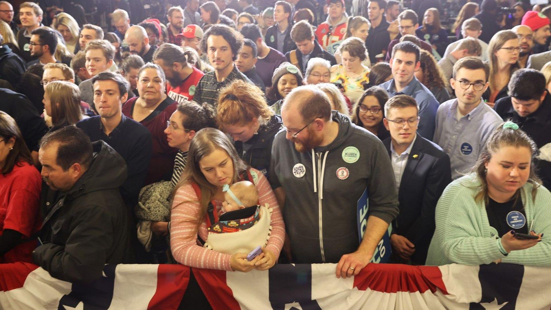 Хаос след ключовото първо гласуване за американски президент