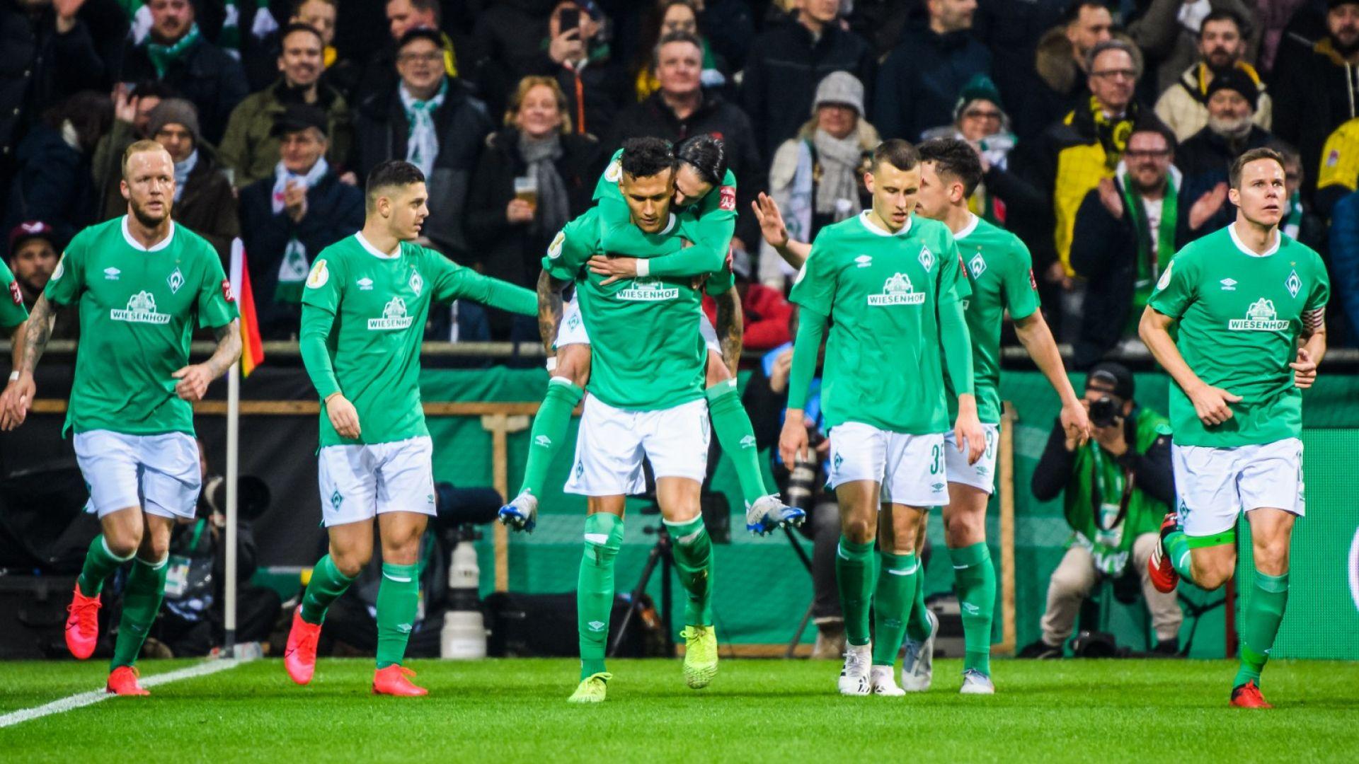 Дортмунд отпадна за купата в мач с фамозни голове