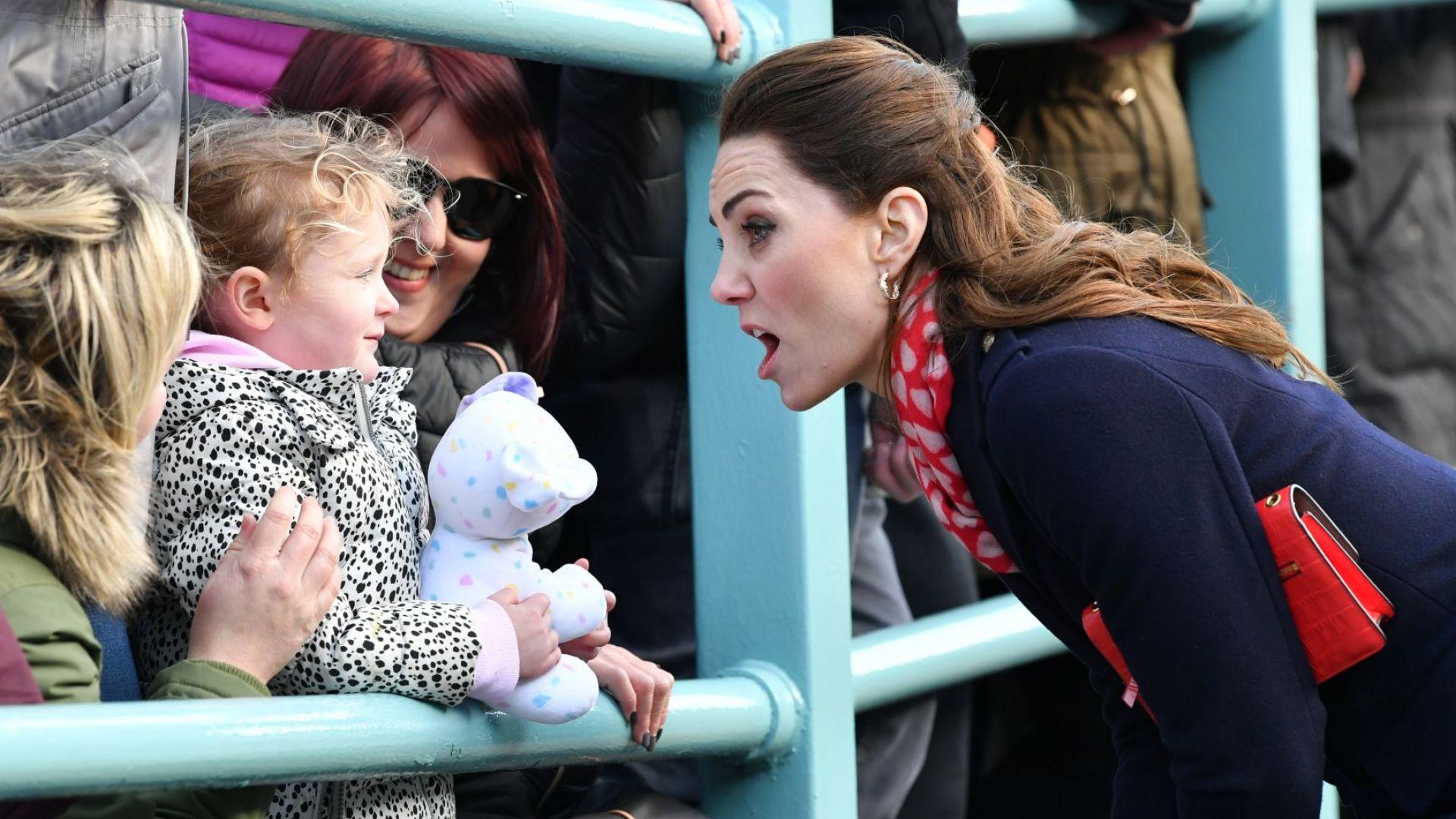 Дете към Кейт: Не изглеждаш като истинска принцеса