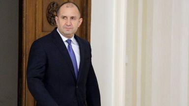 Румен Радев: Борисов го чака служебен кабинет