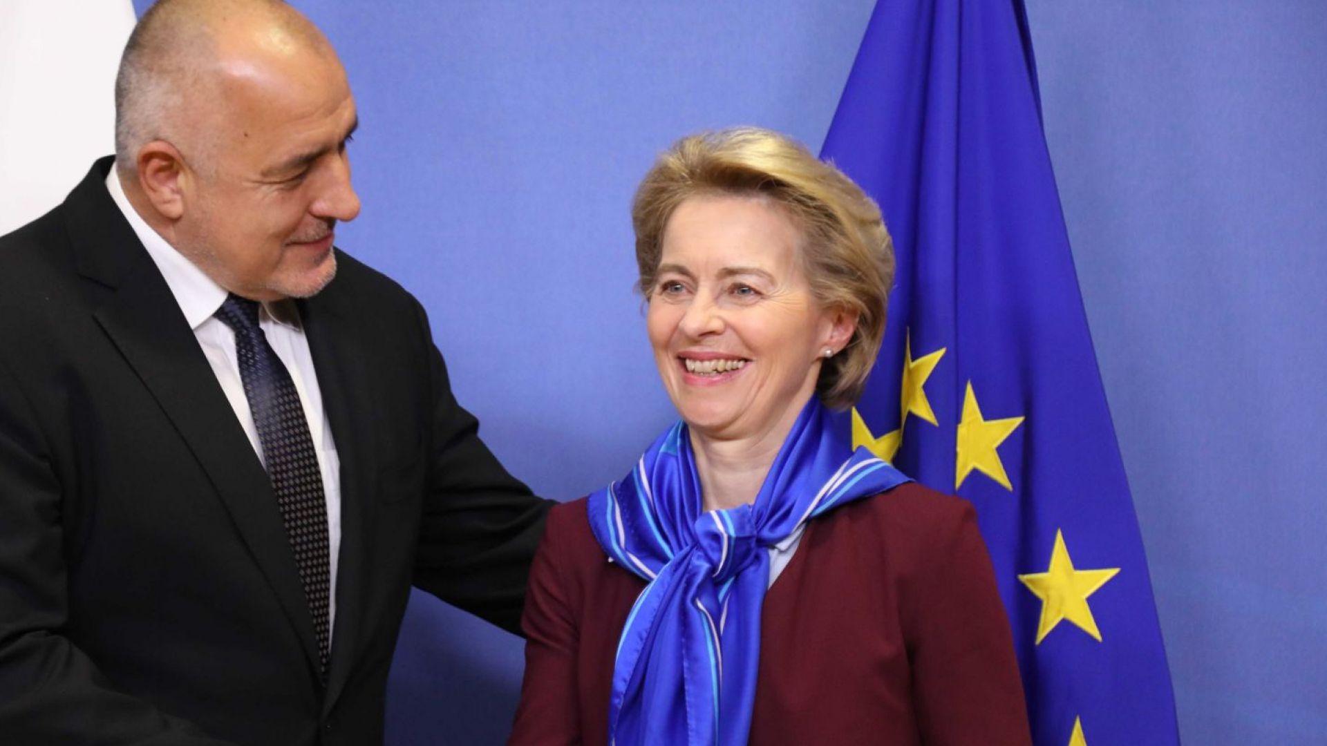 Бойко Борисов и Урсула фон дер Лайен обсъдиха Западните Балкани