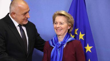 Борисов пред Фон дер Лайен: Ще вървим към климатична неутралност, но плавно