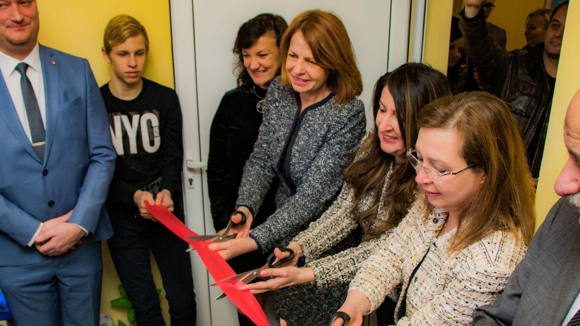 В София откриха защитено жилище за деца, жертви на трафик (снимки)