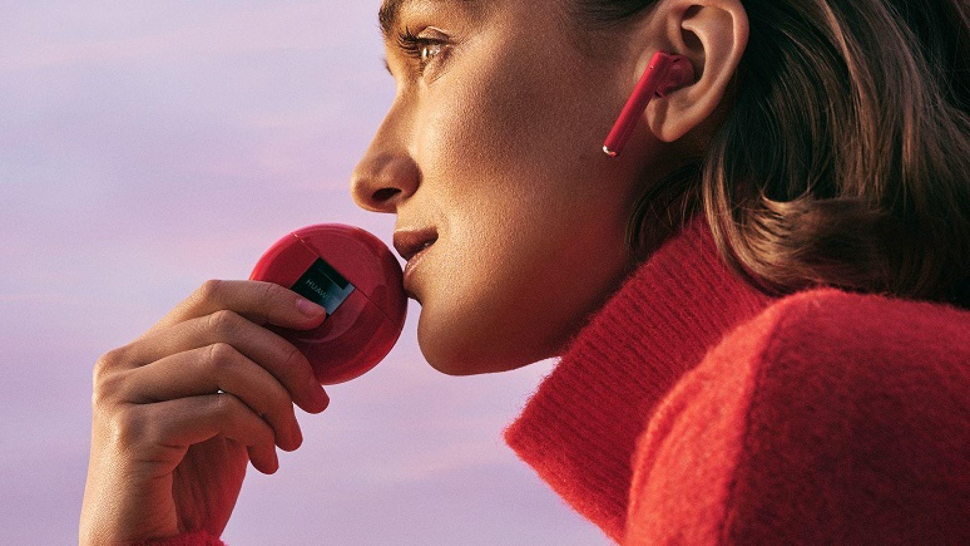 Ако искате да изпъквате - заложете на червените Huawei FreeBuds 3