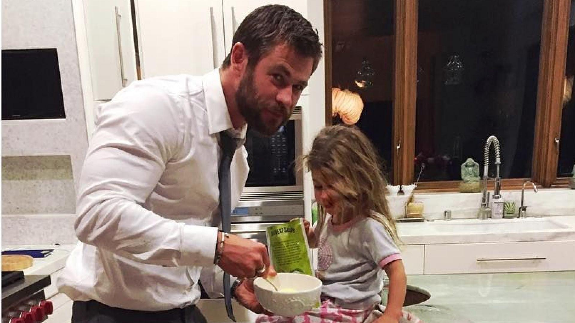 Мъжете, които готвят, чистят и гледат децата, са нeустоими за жените