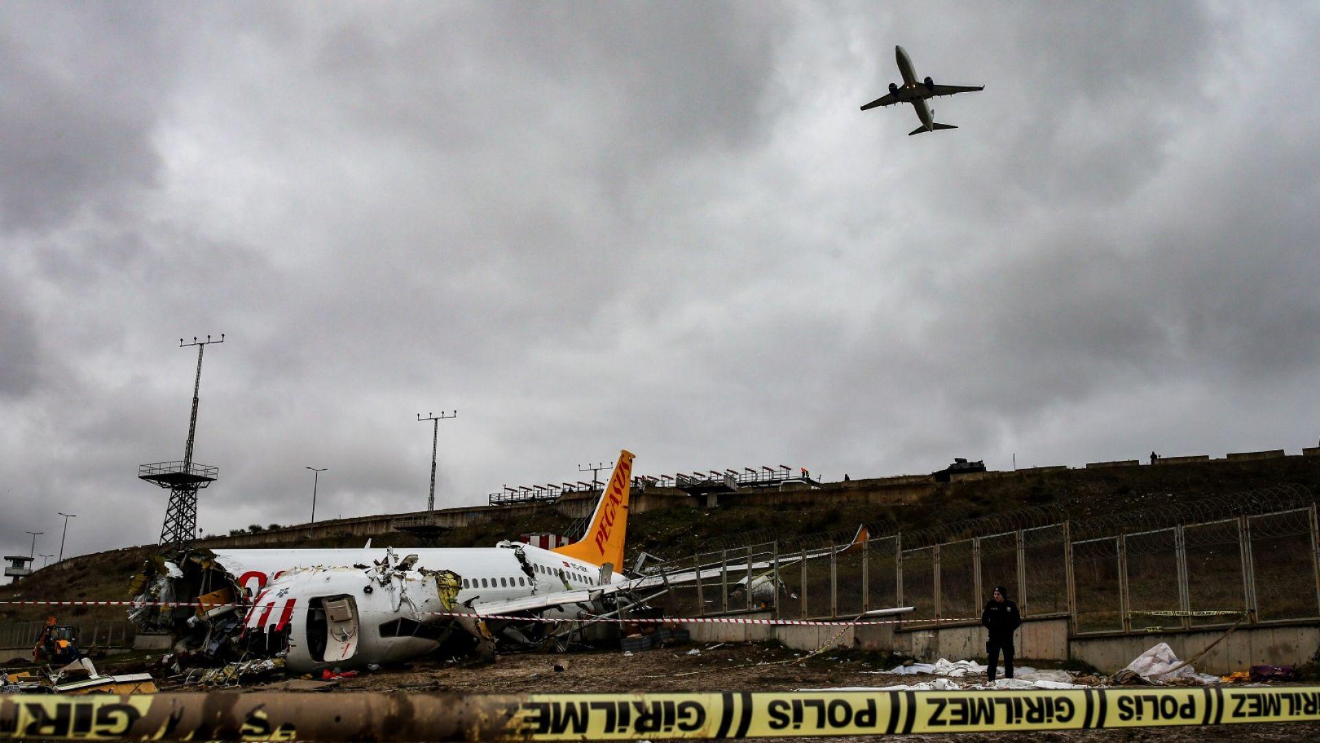 Летището и днес сутринта бе затворено за полети