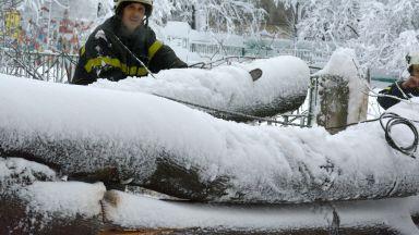 България в снежен капан (снимки)