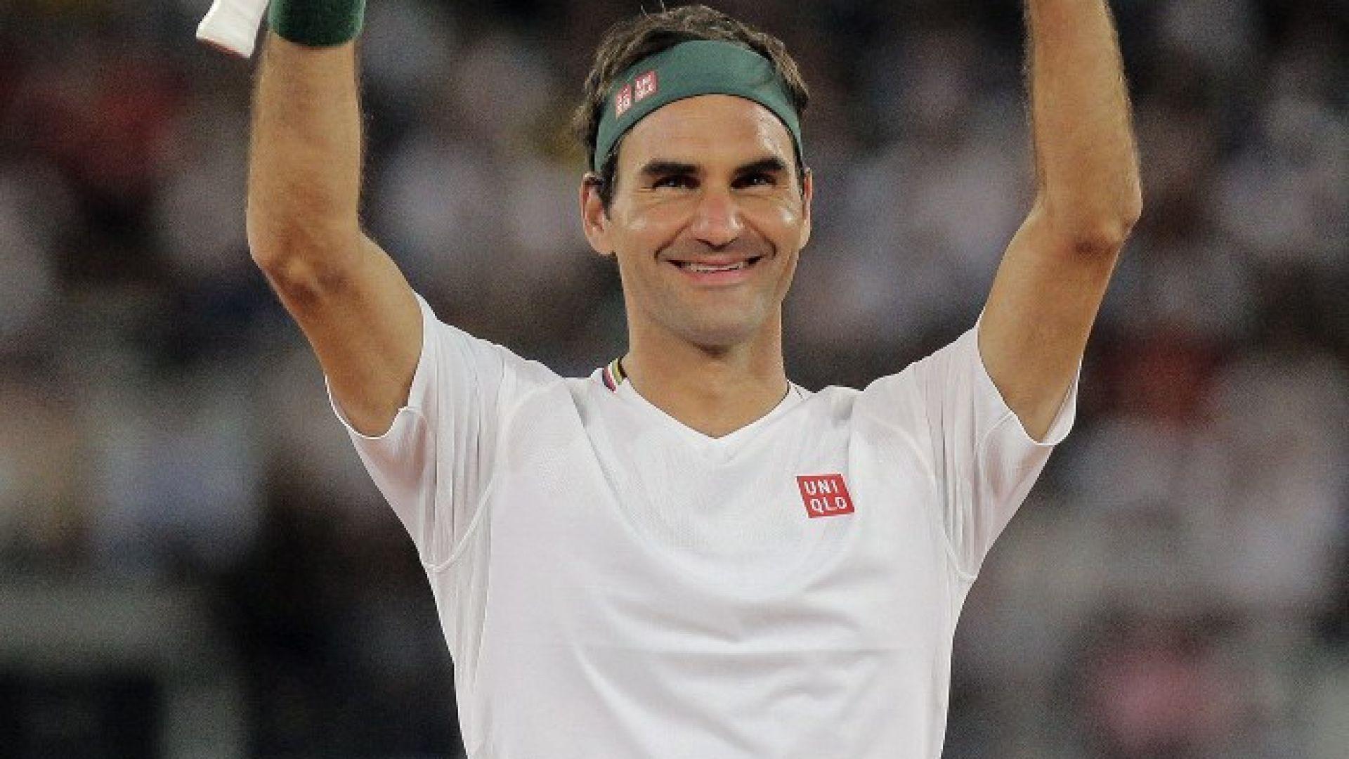 Федерер заговори за отказването и мечтания олимпийски медал