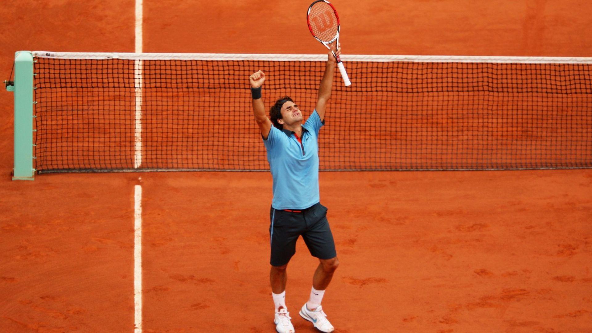 Моментът, в който Надал е плакал от радост заради триумф на Федерер