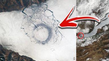 Разкриха мистерията на гигантските кръгове в езерото Байкал