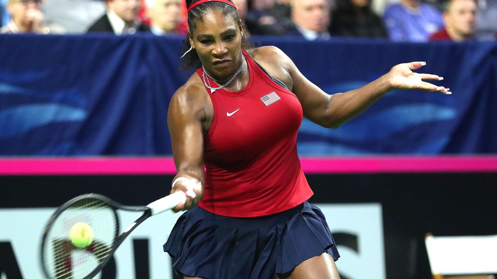 След пет години пауза, Серина отново игра за САЩ и победи