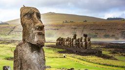 Цивилизацията на Великденския остров е била унищожена, след като европейците донесли болести и робство