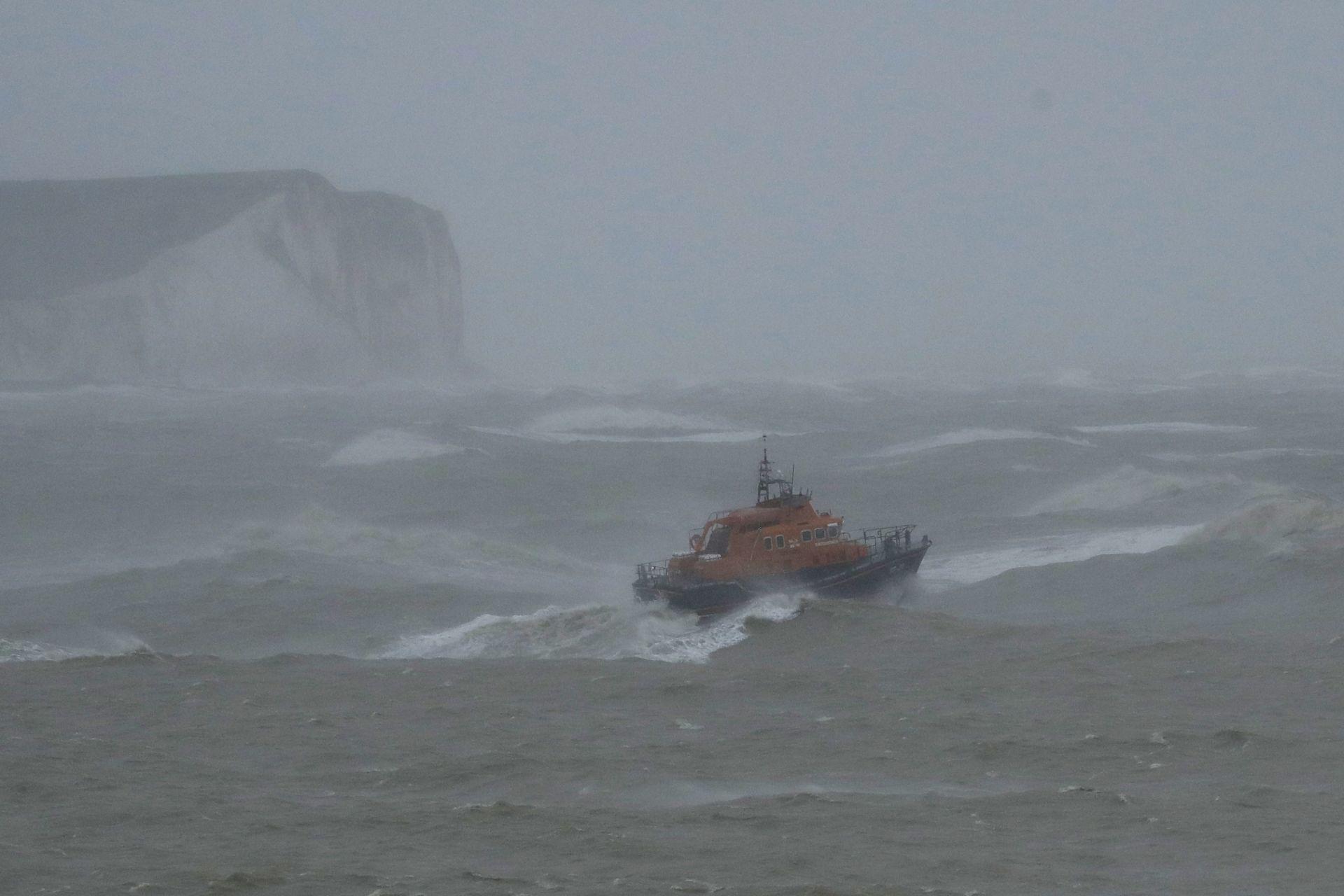 Бурята във Великобритания