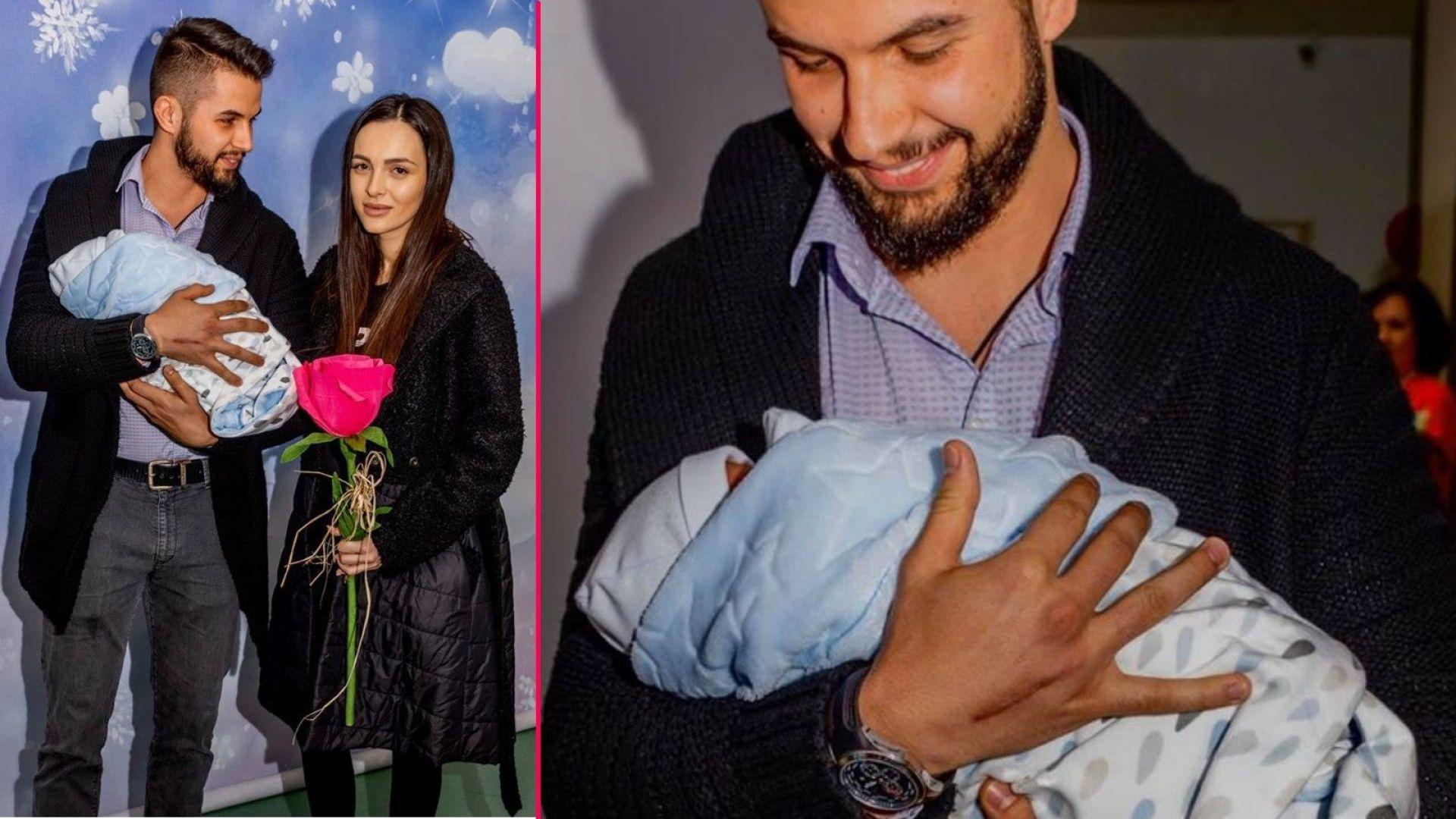 Ангел Караньотов и Ива Русинова станаха родители