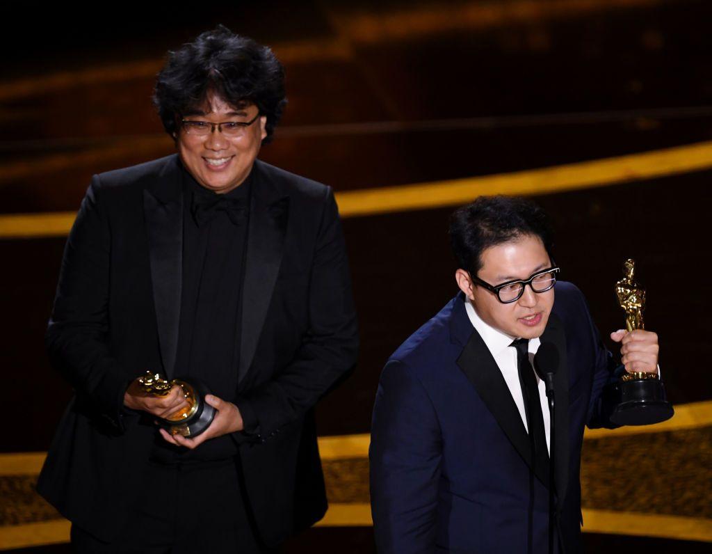 Пон Джун-хо и Хан Джин-уон