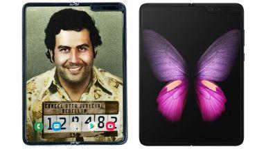 Гъвкавият смартфон от брата на Пабло Ескобар се оказа Samsung Galaxy Fold