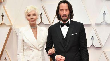 Тенденция: Под ръка с мама на Оскарите