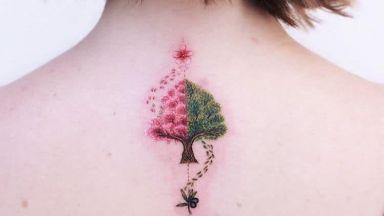 Причудливи татуировки, като излезли от детска книжка с приказки
