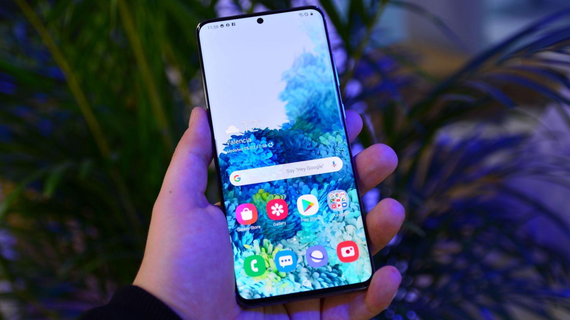 Samsung Galaxy S20 Ultra има много стилен вид