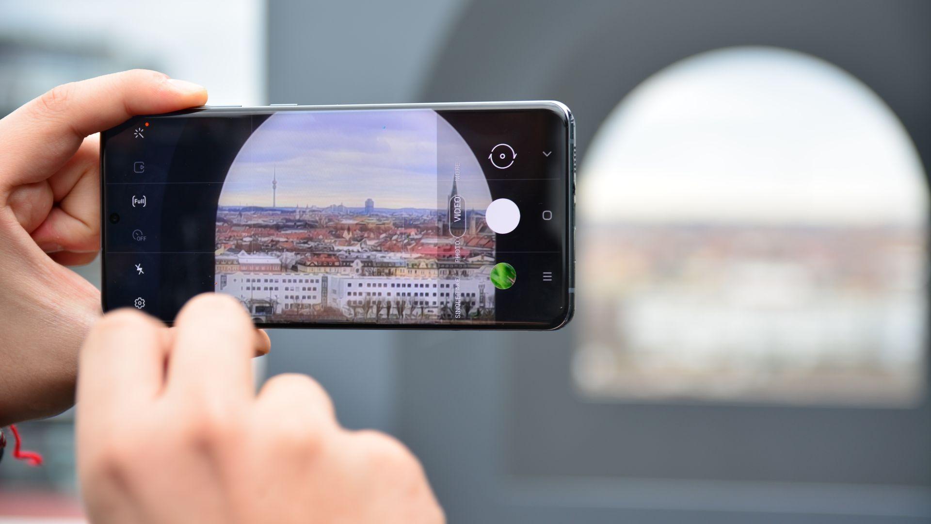 Samsung Galaxy S20 Ultra има 10 пъти оптичен зуум
