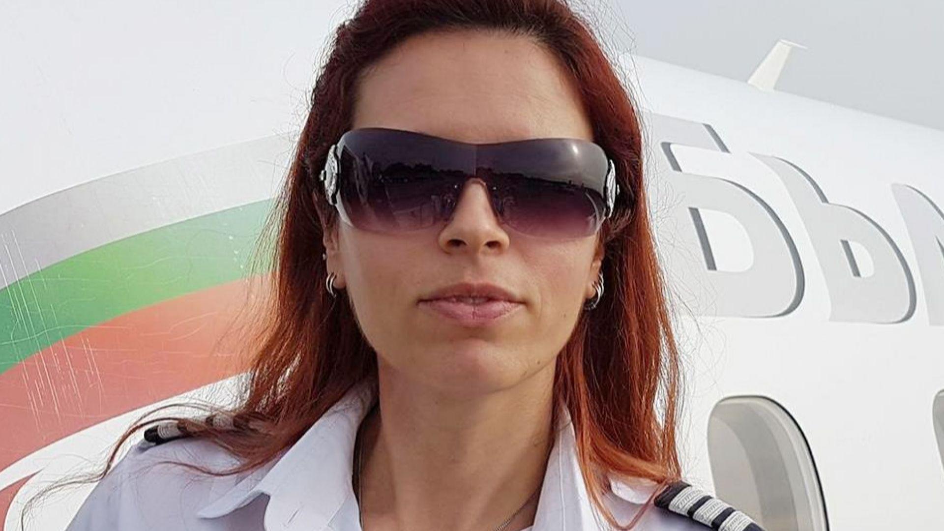 Един от самолетите, които се приземиха успешно на летище
