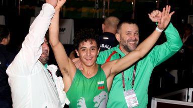 Едмонд Назарян е на финал на Европейското първенство!