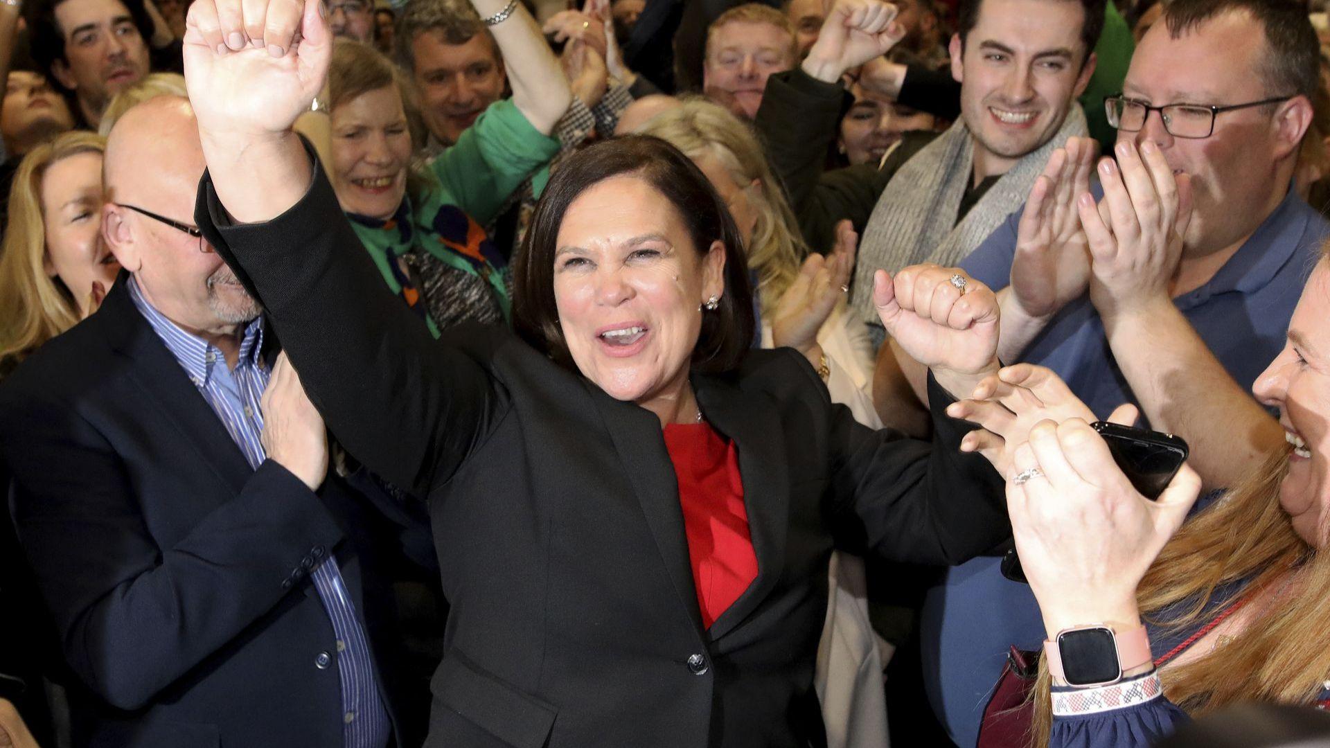 """Републиканците от """"Шин фейн"""" стават втора сила в парламента на Ирландия"""