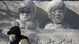 Фестивалът на снега в Сапоро тази година преминава без сняг