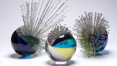 Порцелан и стъкло на Елизар Милев и Красен Троански