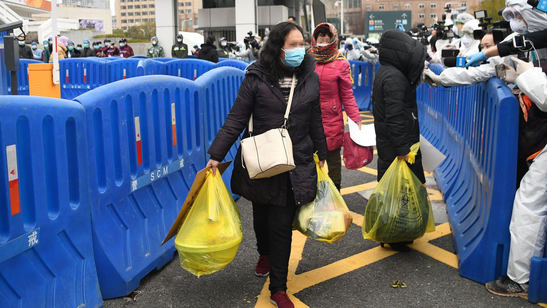 Пикът на епидемията от коронавирус в Китай се очаква в средата на февруари