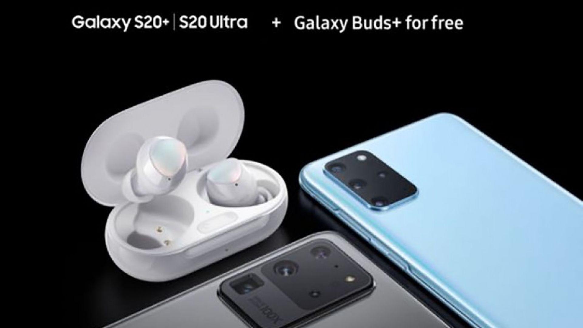 Слушалките Galaxy Buds+ са с висококачествен звук и издръжлива батерия