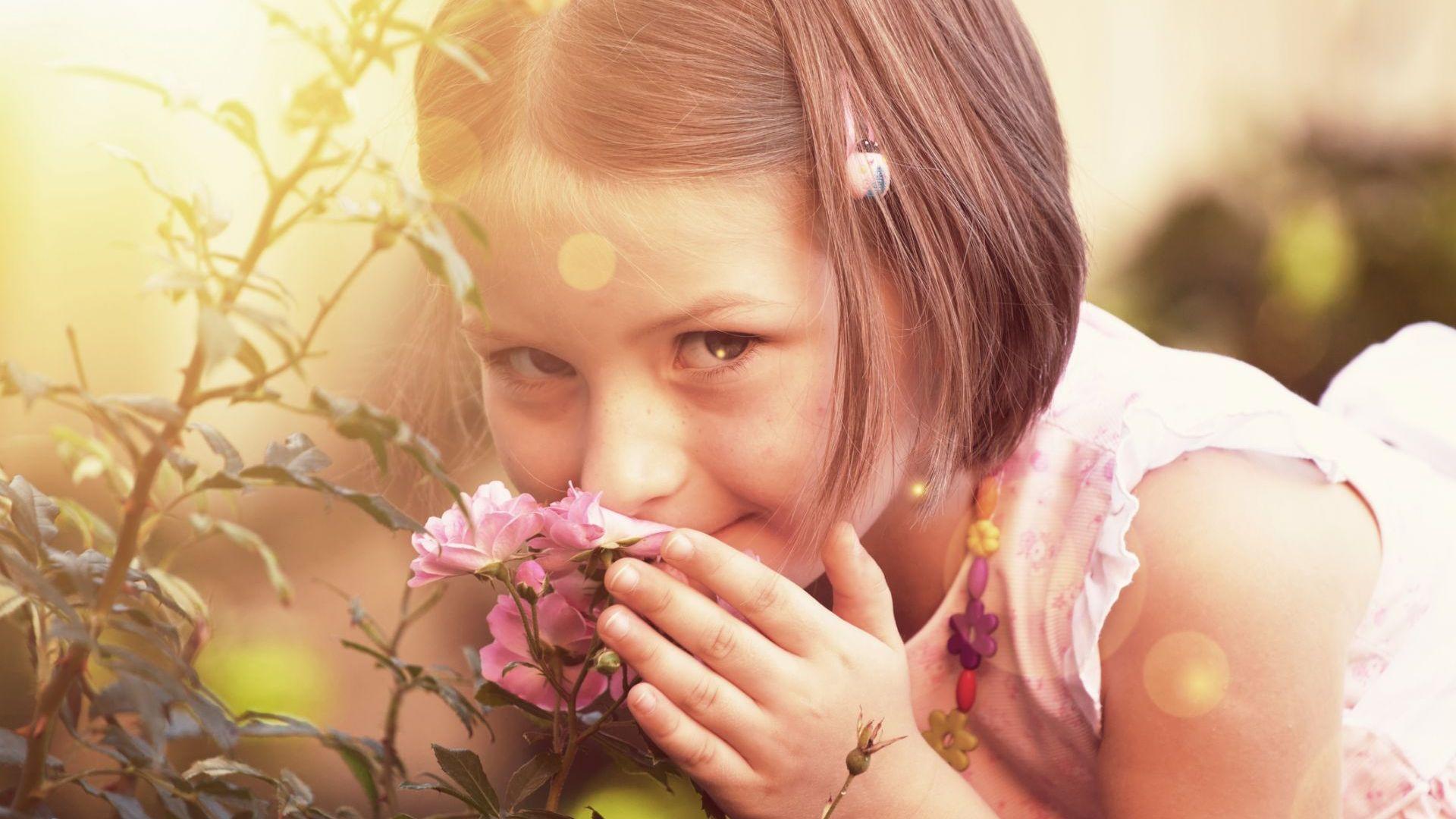 Ароматът на рози по време на сън помага на децата да учат