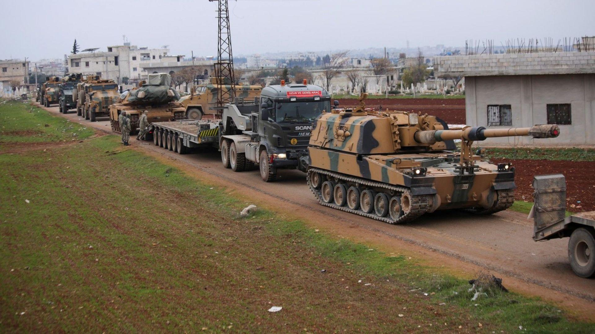 ЕС предупреди за възможно стълкновение  между турските и руските сили в Сирия