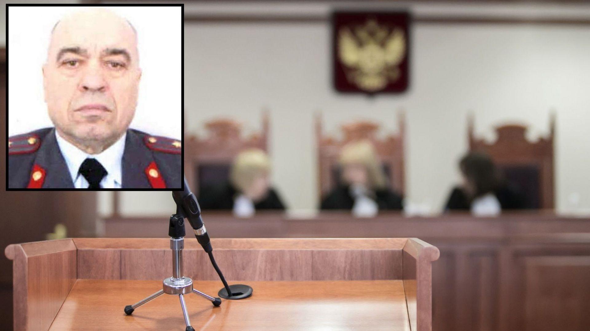 Бивш затворнически шеф в Русия се самоуби в съда, чувайки присъдата си (видео)