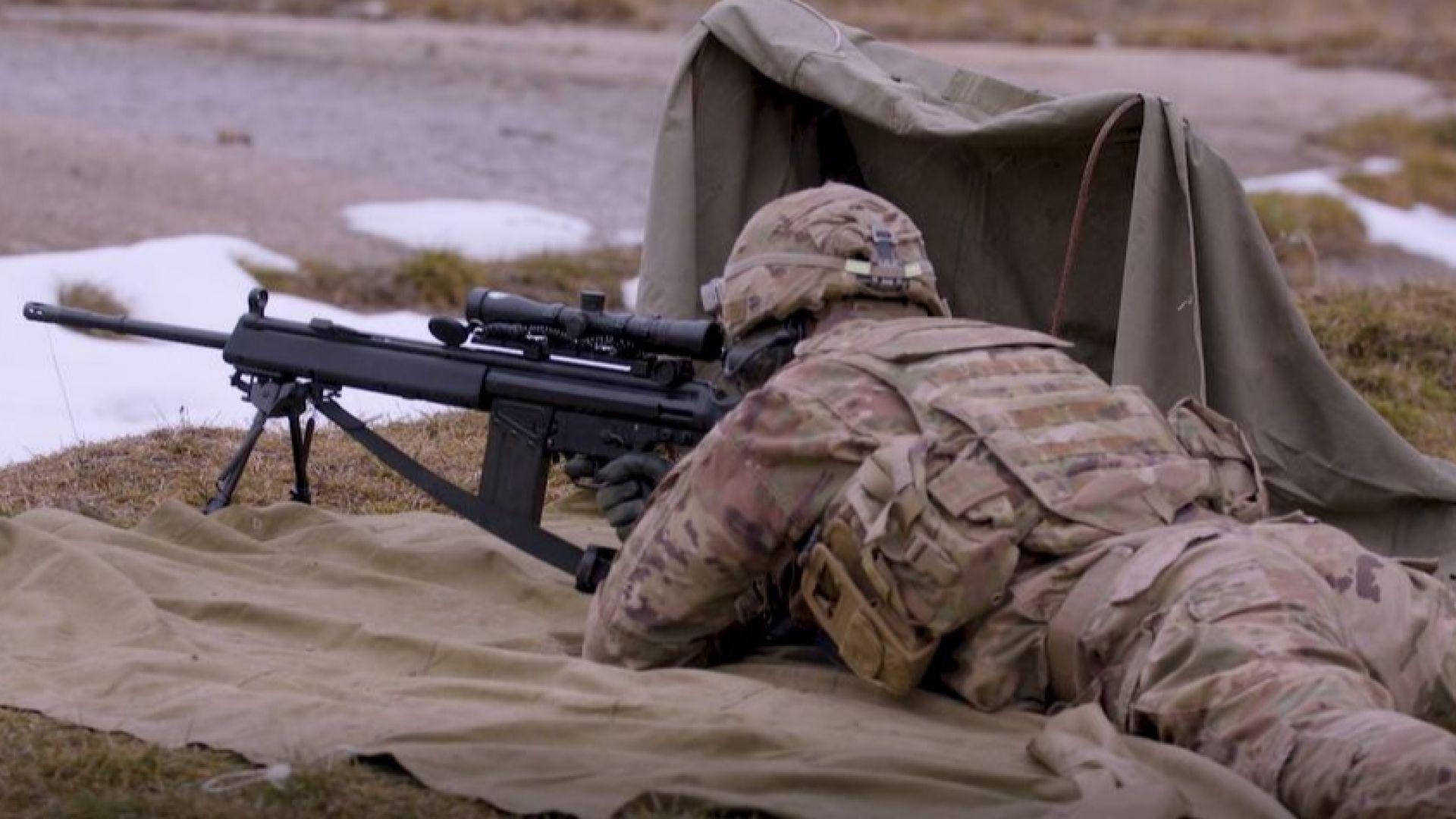Умения по придвижване, маскировка, избор на позиция и стрелба със