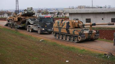 Турция и Сирия започнаха необявена война за Идлиб