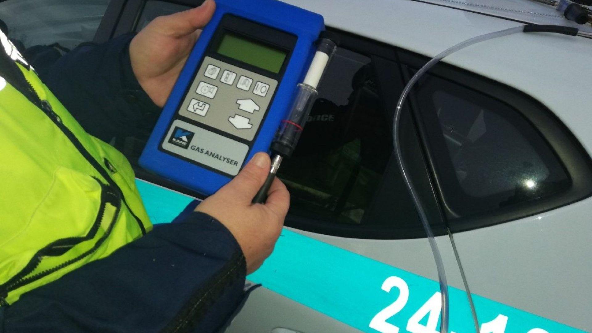 От 60 проверени с газ анализатори коли за ден в София, само една е спряна от движение