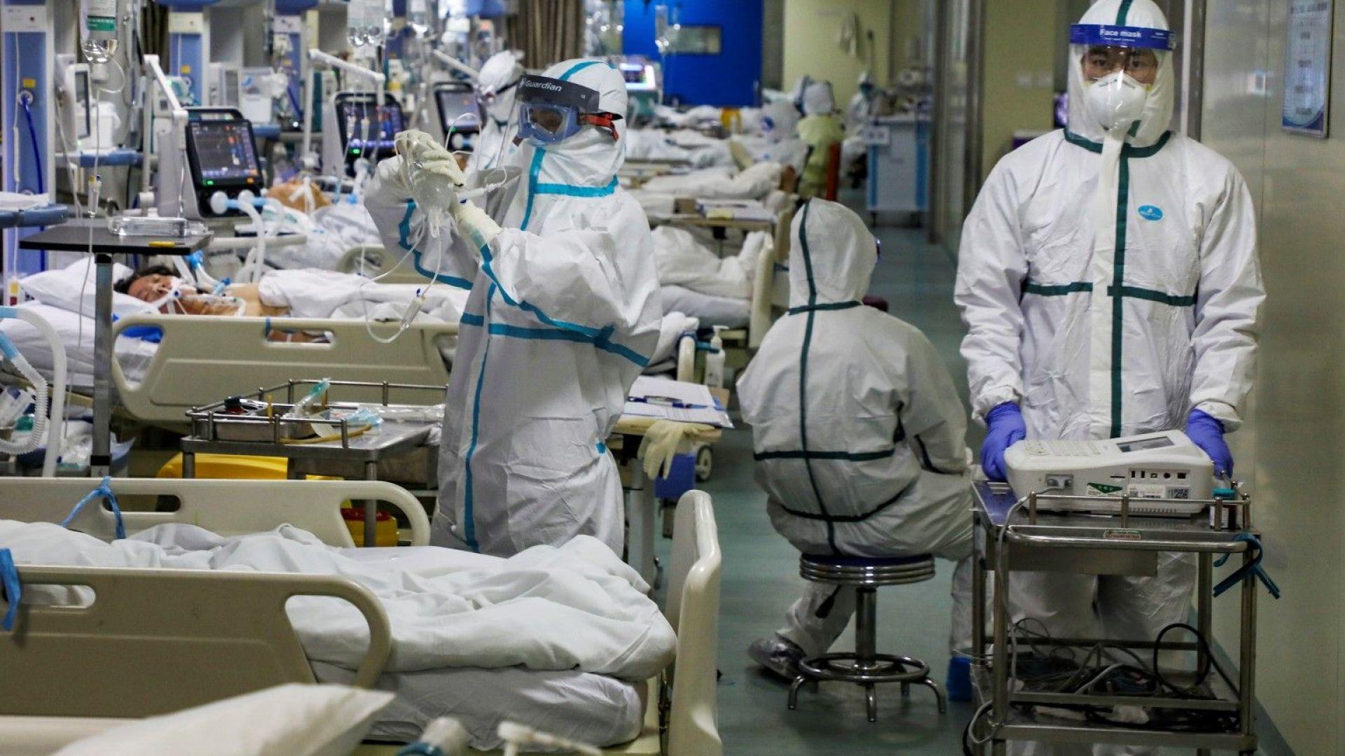 Защо изведнъж рязко скочи броят на загиналите и на заразените от новия вирус