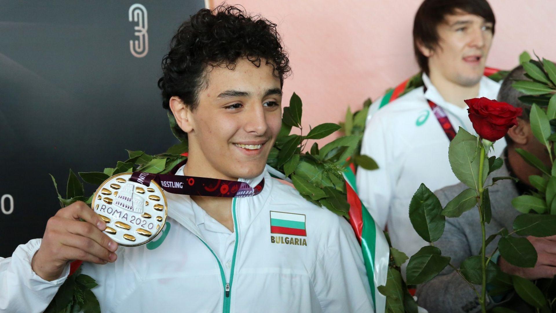 Едмонд Назарян: Тръгвам за всяко състезание с мисълта да съм шампион