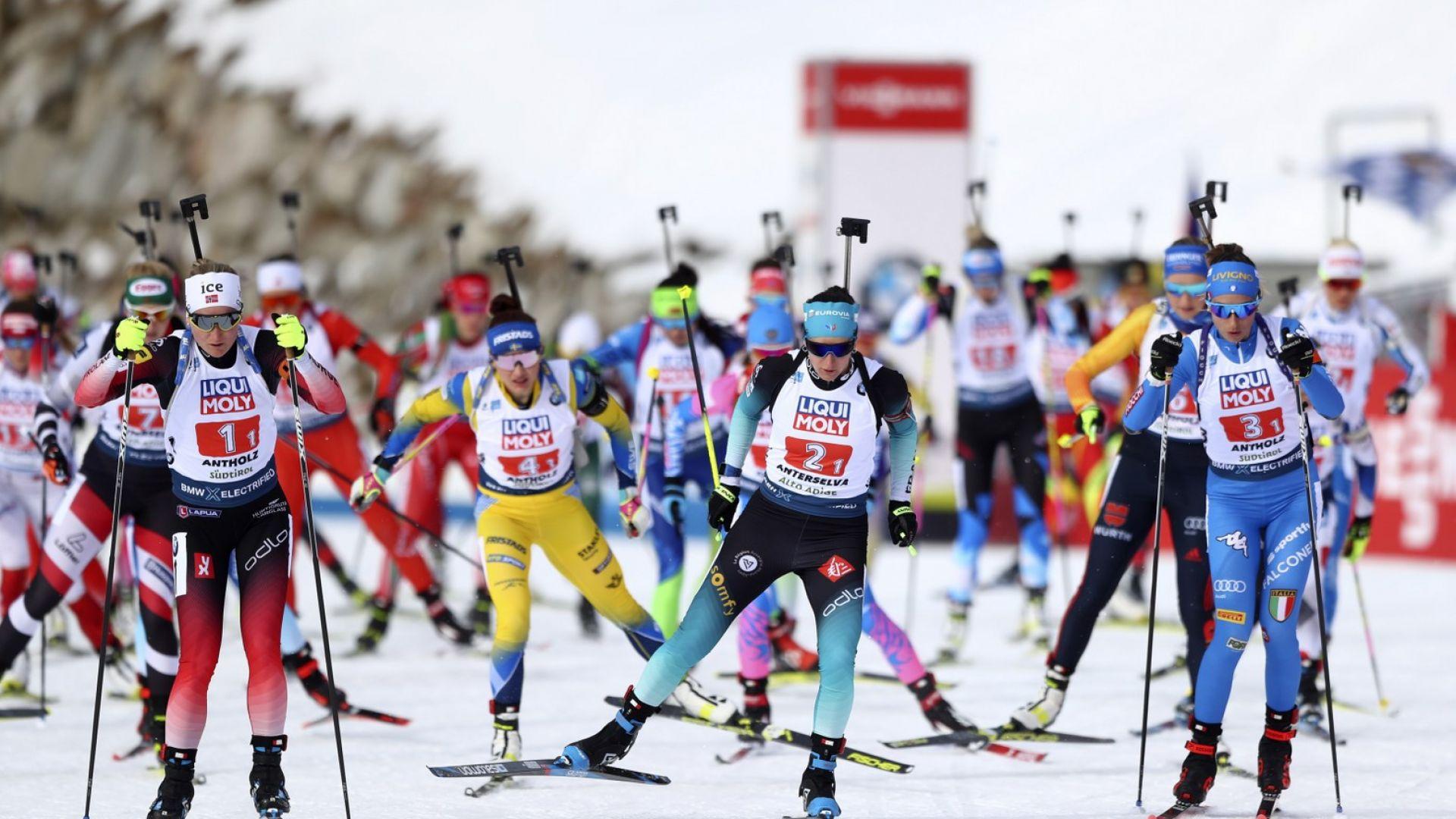 Първите медали са за Норвегия, България разочарова на Световното по биатлон