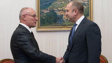 Президентът обсъди с управителя на БНБ приемането на еврото