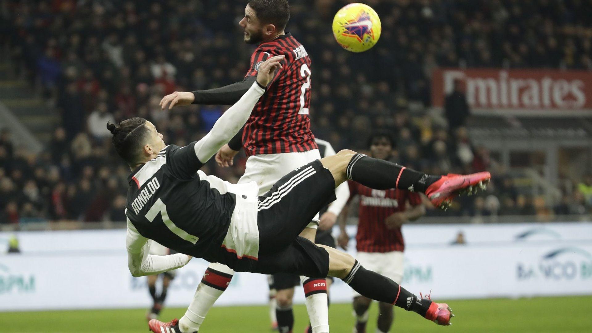 ВАР и Роналдо спасиха шампиона в първия епизод срещу Милан