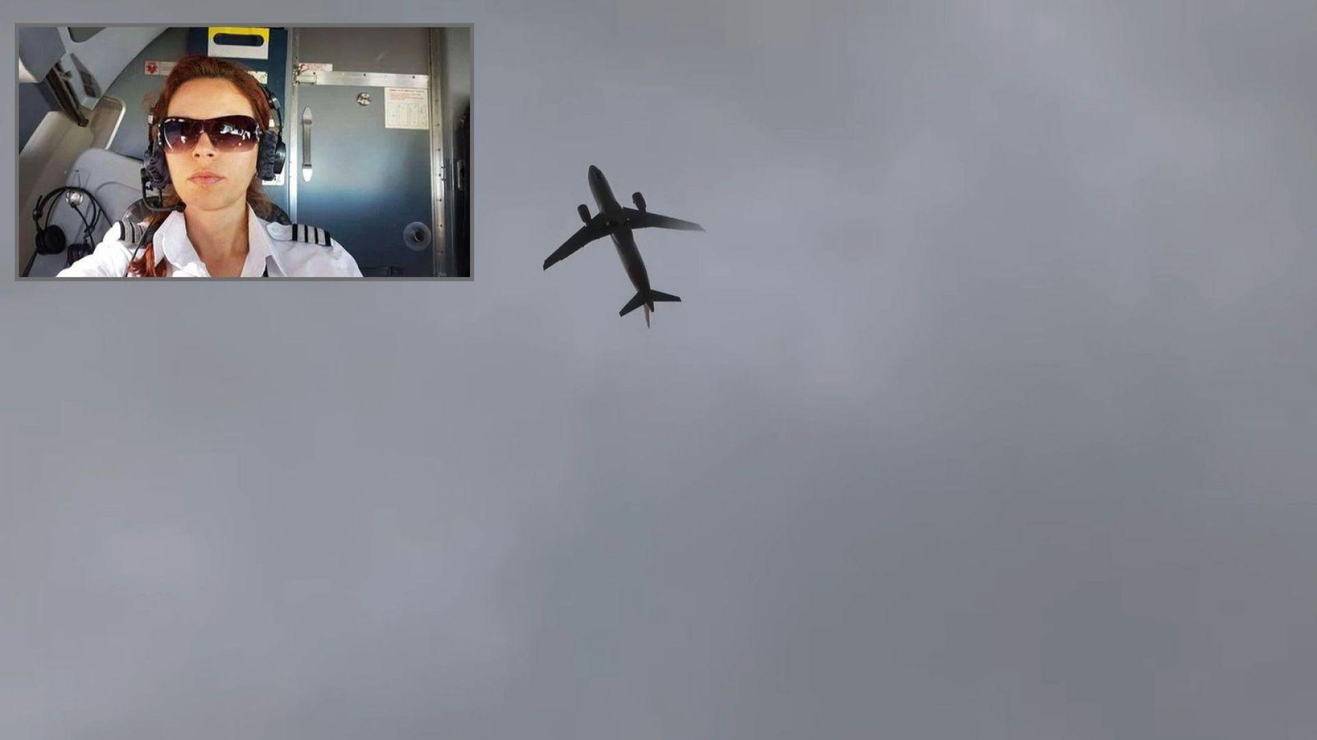 Пилотът Райна Косева пред Dir.bg за сблъсъка с бурята Kиара: Това ми е работата, не съм герой
