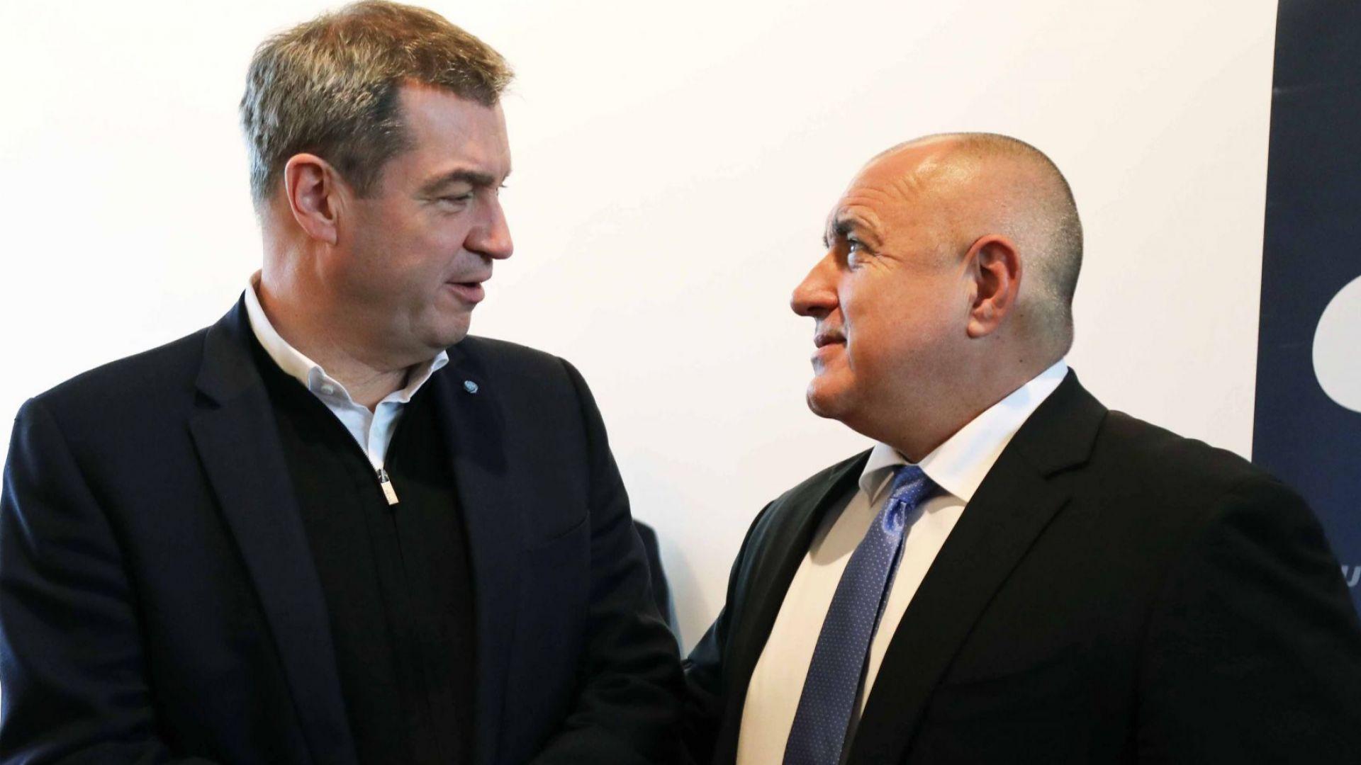 Баварският премиер: Единственият, който винаги остава на поста като премиер в Европа, е Борисов