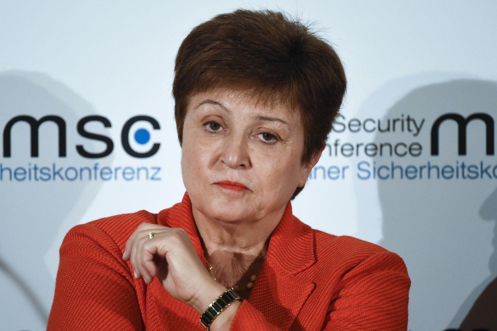 Кристалина Георгиева: Молете се за най-доброто и се гответе за най-лошото